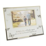 Butterflies Hover and Feathers Appear Photo Frame