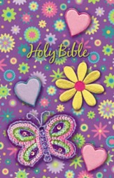 NKJV Sequin Bible, purple