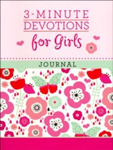3-Minute Devotions for Girls Journal - Slightly Imperfect