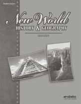 New World History and Geography (Grade 6) Quiz Book (Unbound Edition)