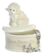 Blessing Lamb Rosary Bead Box