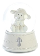Blessing Lamb Musical Water Globe
