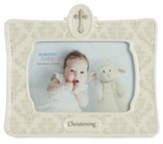 Christening Frame, White