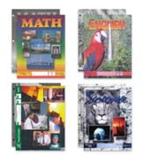 ACE Core Curriculum (4 Subjects), Single Student Complete PACE & Score Key Kit, Grade 9, 3rd Edition (with 4th Edition World Geography & Biology)