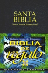 Biblia de Premio y Regalo NVI, Piel Imitada, Negra  (NIV Gifts & Awards Bible, Imitation Leather, Black) - Slightly Imperfect