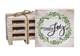 Choose Joy Wood Coasters