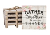 Gather Together Wood Coasters