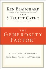 Generosity Factor: Discover the Joy of Giving Your Time, Talent, and Treasure - Slightly Imperfect