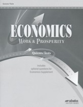 Economics: Work and Prosperity  (Grade 12) Quiz and Test Book