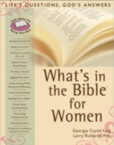 What's in the Bible for Women: Life's Questions, God's Answers - eBook