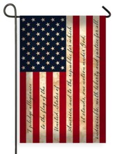Pledge Of Allegiance U.S. Flag, Small
