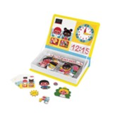 Learn to Tell Time Magnet Book Game