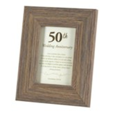 50th Wedding Anniversary Framed Art