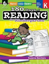 180 Days of Reading for Kindergarten: Practice, Assess, Diagnose - PDF Download [Download]