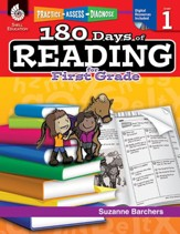 180 Days of Reading for First Grade: Practice, Assess, Diagnose - PDF Download [Download]