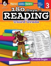 180 Days of Reading for Third Grade: Practice, Assess, Diagnose - PDF Download [Download]
