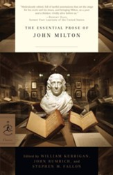 The Essential Prose of John Milton -  eBook