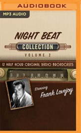 Night Beat Collection, Volume 2 - 12 Half-Hour Original Radio Broadcasts (OTR) on MP3-CD