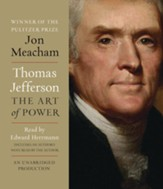Thomas Jefferson: The Art of Power - unabridged audiobook on CD