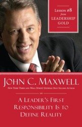 Chapter 8: A Leader's First Responsibility is to Define Reality - eBook