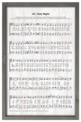 O Holy Night Framed Wall Decor