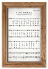 It Is Well With My Soul Framed Wall Decor