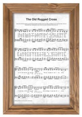 The Old Rugged Cross Framed Wall Decor
