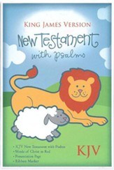 KJV Baby's New Testament and Psalms--imitation   leather, white