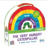 The Very Hungry Caterpillar 2-Sided Floor Puzzle, 26 Pieces