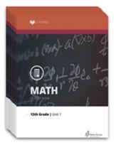Lifepac Math, Grade 12  (Pre-Calculus), Workbook Set
