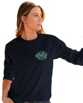 Trust in the Lord, Long Sleeve Shirt, Navy Blue, XX-Large