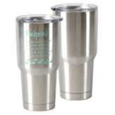 Footprints Stainless Steel Tumbler