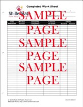 ShillerMath Completed Work Sheet