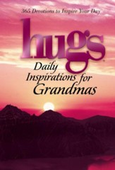 Hugs Daily Inspirations for Grandmas: 365 Devotions to Inspire Your Day - eBook
