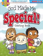 God Made Me Special Coloring Book (ages 2-4)