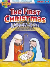 The First Christmas Activity Book (ages 2-4)