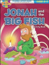 Jonah and the Big Fish Activity Book (ages 5-7)