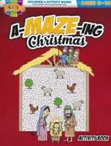 An A-MAZE-ING Christmas Activity Book (ages 8-10)