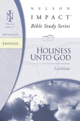 Nelson Impact Study Guide: Leviticus - eBook