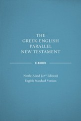 ePub-Greek-English Parallel New Testament with NA27 Text - eBook