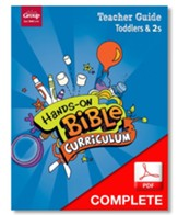 Hands-On Bible Curriculum Toddlers & 2s: Teacher Guide Download, Summer 2021 - PDF Download [Download]