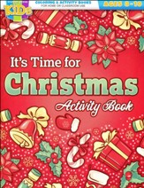 It's Time for Christmas Activity Book--Ages 8 to 10
