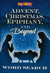 Advent, Christmas, Epiphany & Beyond Itty Bitty Word Search