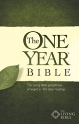 The One Year Bible TLB - eBook