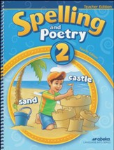 Spelling and Poetry 2 Teacher  Edition (3rd Edition)