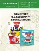 Elementary U.S. Geography & Social Studies, Teacher Guide