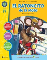 El Ratoncito de la Moto, Kit de Literatura (The Mouse and the Motorcycle, Literature Kit) Gr. 3-4