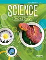 Science Order and Design Teacher's  Edition Volume 1