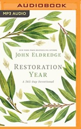 Restoration Year: A 365-Day Devotional - unabridged audiobook on MP3-CD