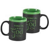 The Struggle is Real But So is God Mug